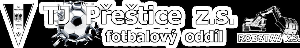 TJ PŘEŠTICE z.s. – fotbalový oddíl